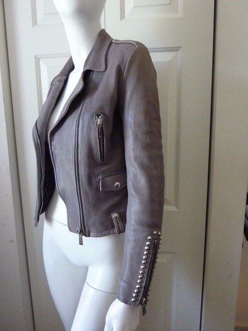 Barbara Bui Motorcycle Jacket Image 5
