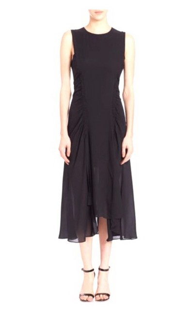 A.L.C. Partially Lined Zip Closure Dress Image 3