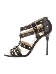 Jimmy Choo High Heels Cage Heels Women Heels Sexy Heels black Sandals