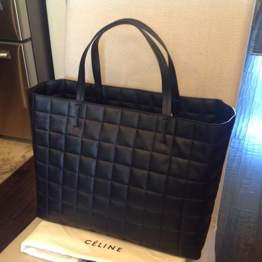Céline Satchel in BLACK Image 3