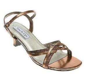 Touch Ups Bronze / Copper Melanie - Bronze/Copper Sandals Size US 9.5 Regular (M, B)
