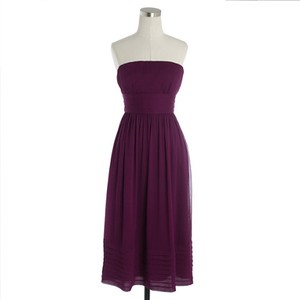 J.Crew Spiced Wine / Burgundy Juliet Dress 97893 Dress