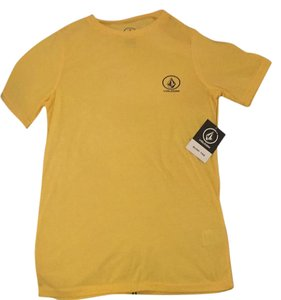 Volcom T Shirt Surf Yellow