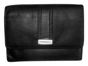 Fossil Fossil Leather Compact ID Credit Card Wallet