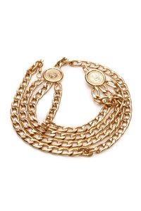 Chanel Chanel Vintage Gold-Tone Rue 31 Cambon Chain Belt