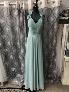 Allure Bridals Waterfall Chiffon 1310 Bridesmaid/Mob Dress Size 12 (L)