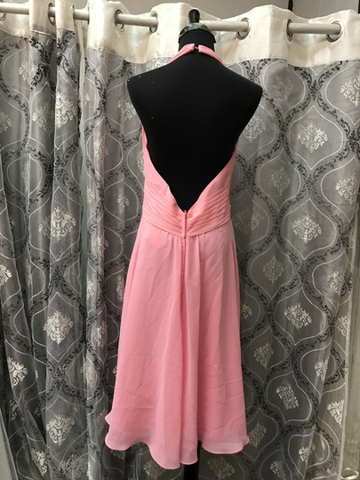 Evenings By Allure Coral 1323 Bridesmaid/Mob Dress Size 12 (L) Image 1