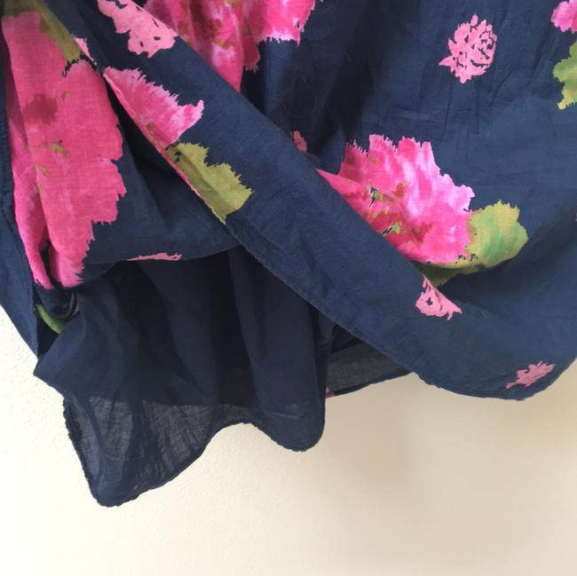 Juicy Couture short dress Navy Floral Ruffle on Tradesy Image 5