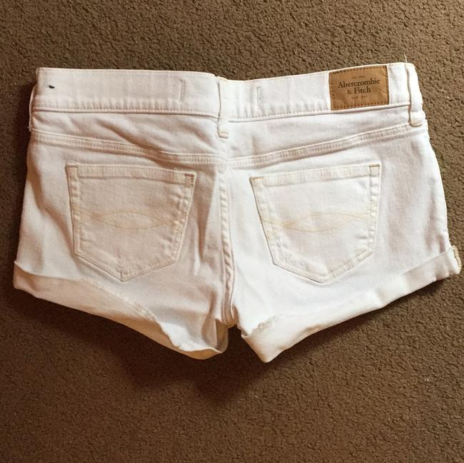 Abercrombie & Fitch Mini/Short Shorts White Image 3