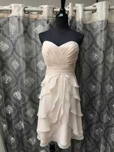 Allure Bridals Baby Pink 1327 Bridesmaid/Mob Dress Size 10 (M)