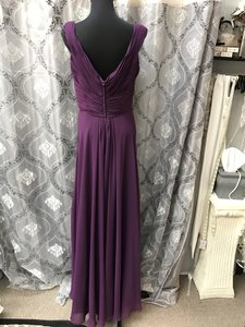 Allure Bridals Grape 1334 Bridesmaid/Mob Dress Size 12 (L)
