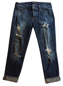 Hollister Boyfriend Cut Jeans-Distressed