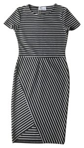 Zara short dress Black and White Stripe Bold Bold Sexy Chic on Tradesy