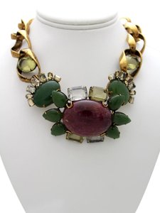 iRADJ Moini NEW SIGNED IRADJ MOINI RUBY JADE NECKLACE COLLECTIBLE