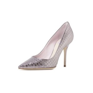 Dior Metallic Rose Pumps