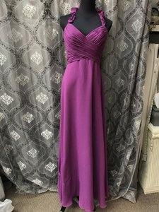 Allure Bridals Wildberry 1364 Bridesmaid/Mob Dress Size 8 (M)