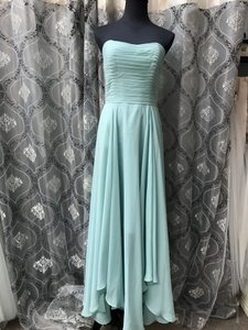 Allure Bridals Waterfall Chiffon 1369 Bridesmaid/Mob Dress Size 10 (M)
