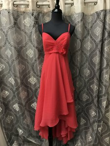 Allure Bridals Watermelon 1372 Bridesmaid/Mob Dress Size 8 (M)
