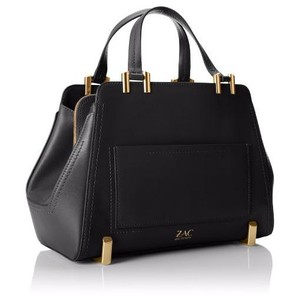 Zac Posen Work Patent Satchel in black