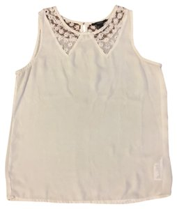 Forever 21 Top Bone white