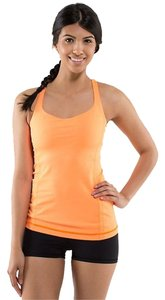 Lululemon Lululemon Orange Pizzaz Free to be Tank