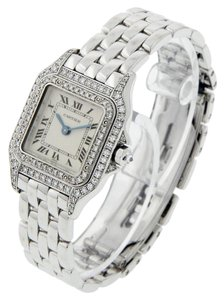 Cartier CARTIER-PANTHER-PANTHERE-1660-18K-White-Gold-Ladies-Watch