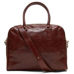 Banana Republic Leather Brown Travel Bag