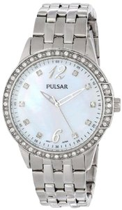 Pulsar PH8051 Mother of Pearl Dial Stainless Ladies Watch