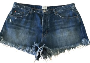 Hudson Jeans Cut Off Shorts denim