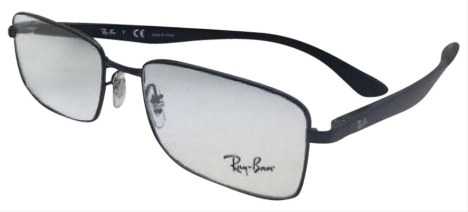 Ray-Ban New Rx-able Rb 6333 2509 54-17 140 Black Rectangular Frames ...