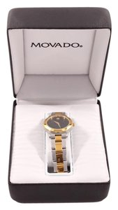 Movado Silver/Gold Watch