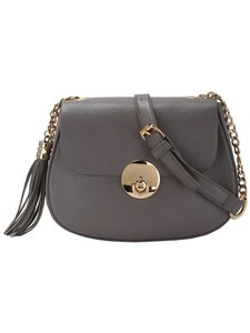 Romwe Small Faux Leather Chain Strap Cross Body Bag