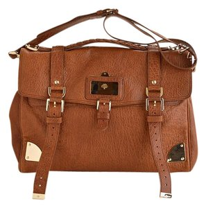 Mulberry Brown Messenger Bag