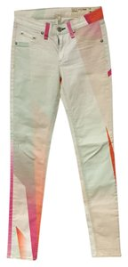 Rag & Bone & Pastel Skinny Jeans-Distressed