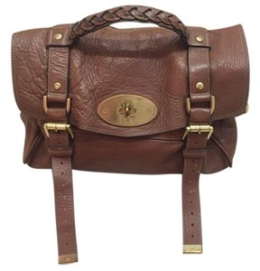 Mulberry Leather Vintage Fashion Cross Body Bag