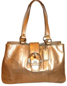 Coach Refurbished Leather Large Lined Hobo Bag