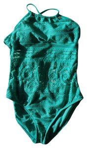 Kenneth Cole Reaction Kenneth Cole Reaction Green with Lace, Removable Bra Pads Size M