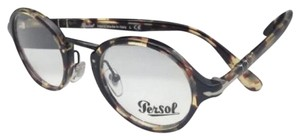 "Persol ""Typewriter Edition"" PERSOL Eyeglasses 3128-V 1057 Havana Grey-Brown"