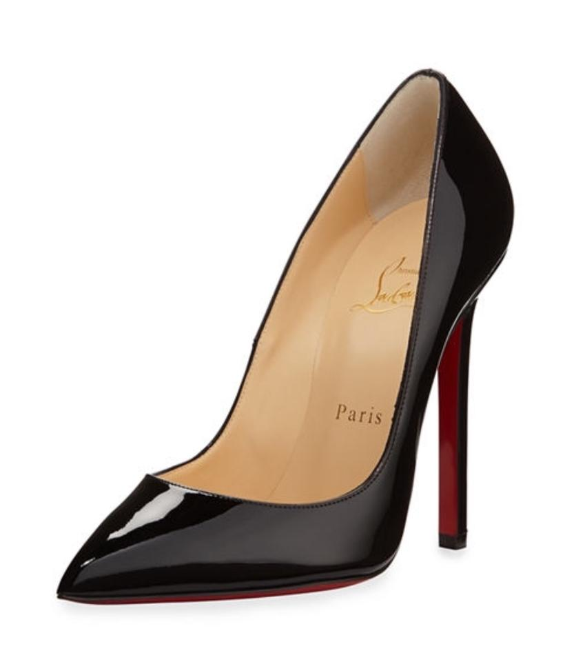 buy popular 2037a 4eb52 Christian Louboutin Black Patent Leather Pigalle 120 Pumps Size EU 40.5  (Approx. US 10.5) Regular (M, B)