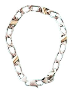 Tiffany & Co. Cuban Mariner link chain bracelet