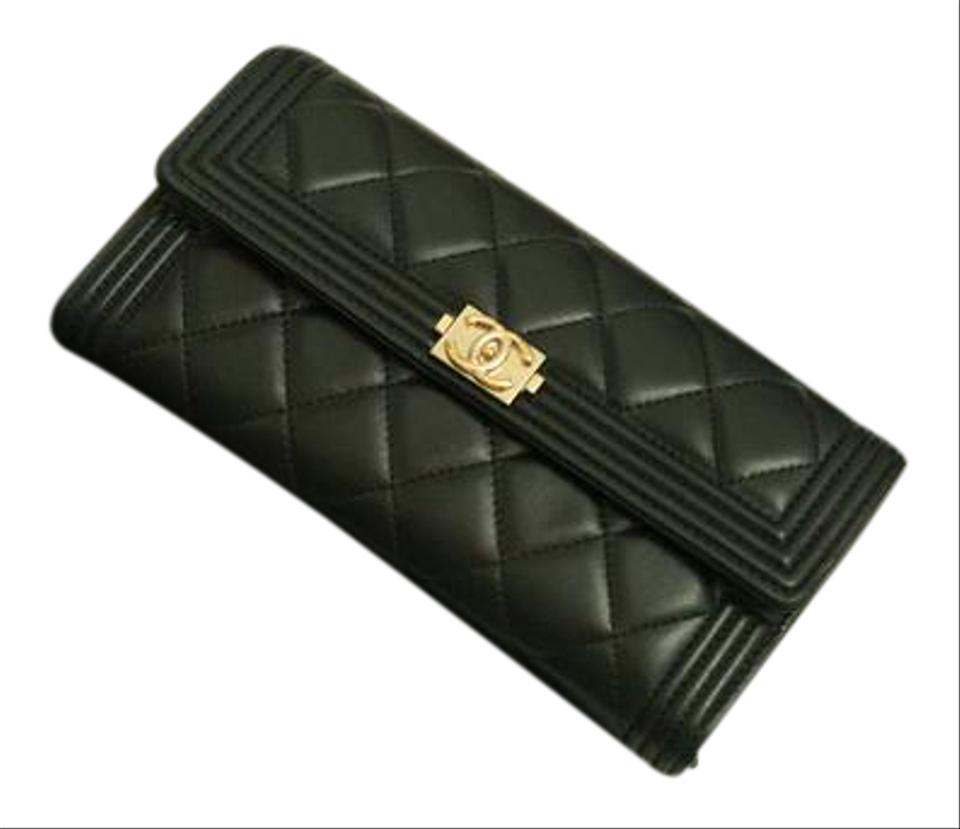 07b0d2e9a15807 Chanel Chanel Hot Pink Leather Le Boy Wallet Image 0 ...