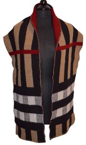 Burberry CASHMERE WOOL GIANT CHECK PASHMINA WRAP SCARF