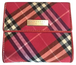Burberry Red Bifold Wallet