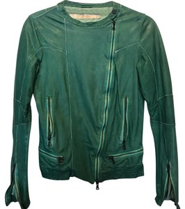 Drome green Leather Jacket