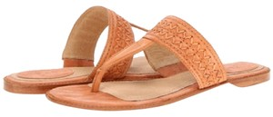 Frye Artisanal Peach Sun Washed Thong Sunwashed Peach Sandals