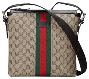 Gucci Messenger Gg Web Supreme Dionysus Cross Body Bag