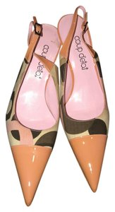 Other Pointed Toe Slingback Multicolor New Pointed Toe multi Formal