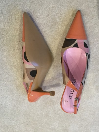 Other Pointed Toe Slingback Multicolor New Pointed Toe multi Formal Image 6