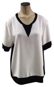 Rag & Bone Top Black, White