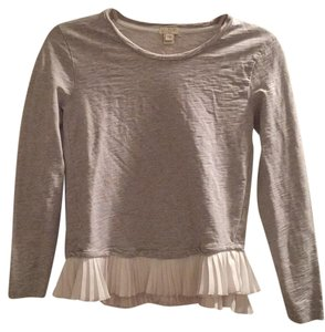 J.Crew Top grey/ cream